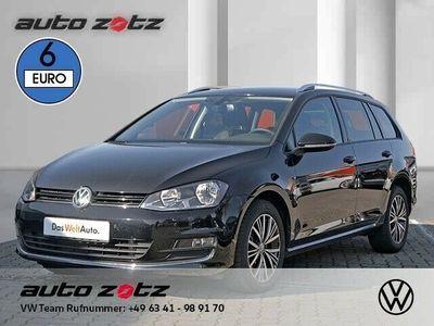 gebraucht VW Golf VII Variant ALLSTAR 2.0 TDI DSG (Klima Einparkhilf