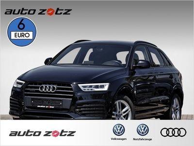 gebraucht Audi Q3 Sport 2.0TDI quattro 3x S line, Navi, LED, Schw