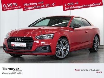 gebraucht Audi A5 Coupé 40 TFSI 2x S LINE BLACK LM20 ACC LED NAVI+
