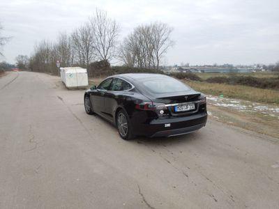 gebraucht Tesla Model S P85+ / Performance / Doppellader / Pano