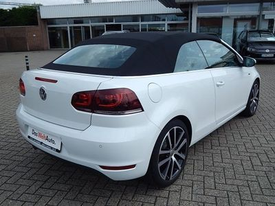 gebraucht VW Golf Cabriolet VI 1.6 TDI DPF Lounge (Navi)