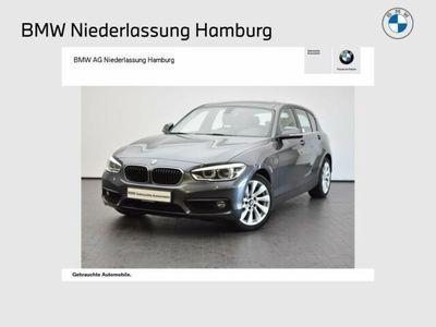 gebraucht BMW 118 d 5-Türer Advantage LED GSD Navi Bus. Shz