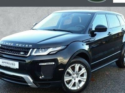 gebraucht Land Rover Range Rover evoque 2.0 TD4 SE Dynamik Autom.