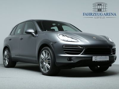 gebraucht Porsche Cayenne S Diesel BOSE 21'' Luftfederung AHK