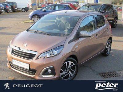 gebraucht Peugeot 108 Allure Klimaautomatik+Keyless+Kamera+LM
