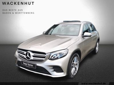 gebraucht Mercedes GLC220 d 4Matic AMG Line LED Parkassistent Navi