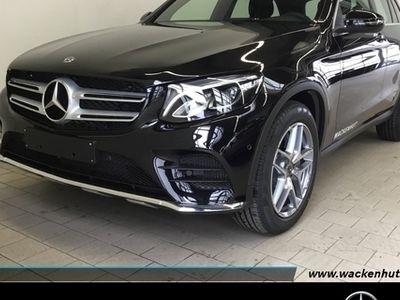gebraucht Mercedes GLC220 d 4MATIC AMG Line/Navi/LED/Spur-Paket/AHK Klima