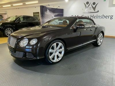 gebraucht Bentley Continental GTC V-12 423KW Scheckheft Luftf. als Cabrio/Roadster in Heinsberg