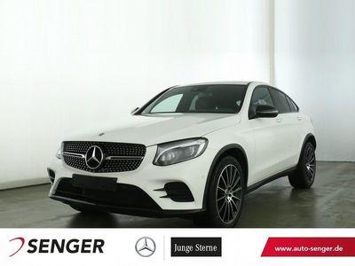 gebraucht Mercedes GLC350 d 4M Coupe+COMAND+LED+AMG-LINE+AHK+NIGHT