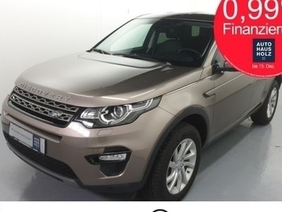 gebraucht Land Rover Discovery Sport TD4 SE Automatik 150 PS Navi