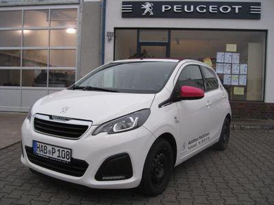 gebraucht Peugeot 108 VTI 68 Top! Active *STOFFVERDECK* KLIMA * DAB *