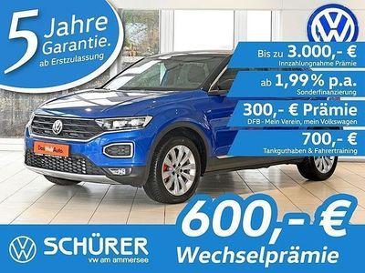 gebraucht VW T-Roc T-RocSport 2.0TDI DSG LED°Navi°ACC°Kamera°Keyless°LaneAssist°AusparkAssist°