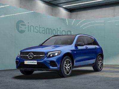 gebraucht Mercedes GLC43 AMG GLC 43 AMGAMG 4M AHK Distronic+ Standhz Pano HUD Bu