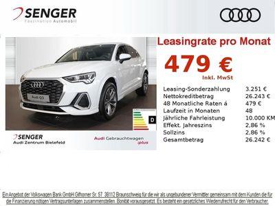 gebraucht Audi Q3 Sportback S line RKAMERA VC GRA DAB PRIVACY Fahrzeuge kaufen und verkaufen