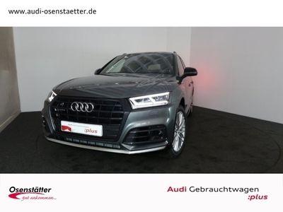 gebraucht Audi Q5 45 TDI sport qu/Leder/LED/Navi +/StandHZG/Keyless/Panodach