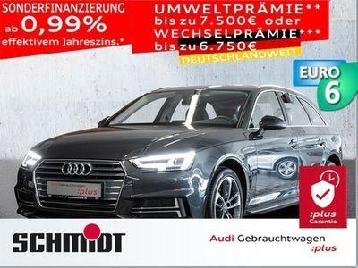 käytetty Audi A4 Avant g-tron 2.0 TFSI S line AHK, LED, LM 18, DAB, Navi, PDC+, GRA, SHZ