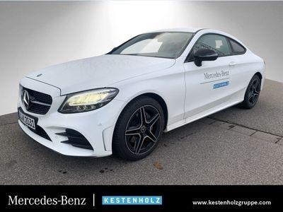 gebraucht Mercedes C180 Cp. AMG Burmester LED Night Keyl-GO Kamera