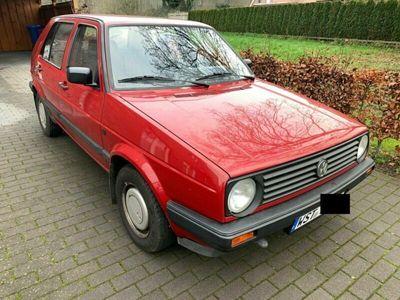 gebraucht VW Golf II CL 1,3 Liter BJ 1991 rot
