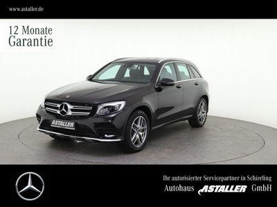 gebraucht Mercedes GLC350 e 4M AMGLin+Kam+Spur+Totw+19''+LED+Airbo
