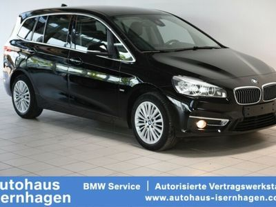 gebraucht BMW 218 i Luxury Line Parkassis. LEDER Harman Keyless