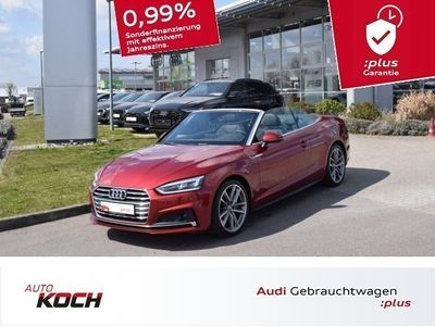 gebraucht Audi A5 Cabriolet 40 TDI q. S-Tronic S-Line 3x, LED, Navi Touch, ACC, Side+Lane