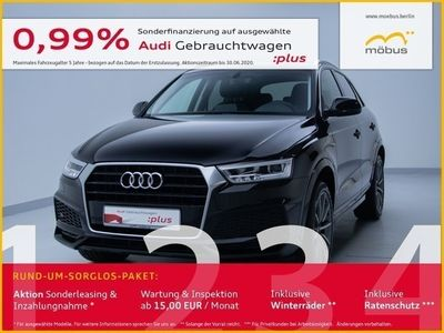 gebraucht Audi Q3 design 2.0 TDI 110 kW (150 PS) S tronic