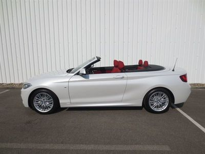 gebraucht BMW 218 d Cabrio M-Sport/Navi/Windschott/Leder