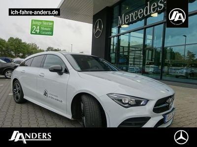gebraucht Mercedes CLA220 d SB AMG+Night+LED+Kamera+PDC
