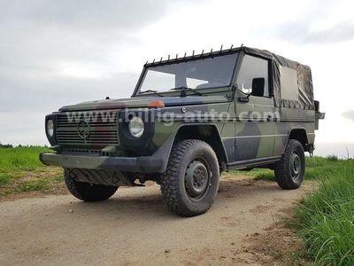 gebraucht Mercedes G250 * Wolf * 68.000KM org. Bundeswehr * W461