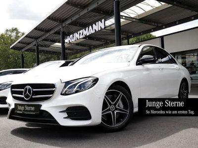 gebraucht Mercedes E300 AMG Night Navi LED Distronic Widescreen