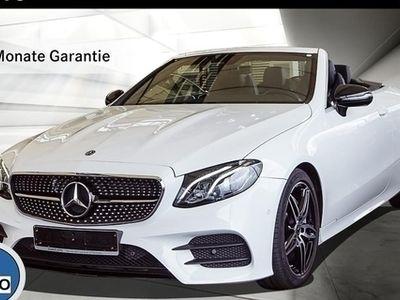 gebraucht Mercedes E200 CABRIO AMG-LINE NAVI NIGHT TOTWINKEL