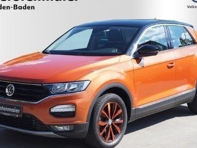 gebraucht VW T-Roc 3 Jahre Anschlußgarantie Style 4Motion 2,0 TDI DSG