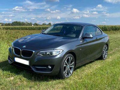 gebraucht BMW 228 2er Coupe Aut. Sport Line
