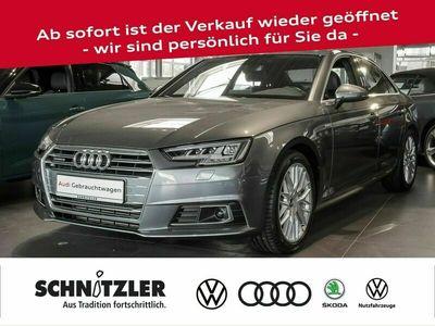 gebraucht Audi A4 Limousine 2.0 TFSI quattro S line Matrix-LED/vi