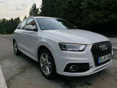 gebraucht Audi Q3 S-line, Scheckheft, neue Kupplung&...