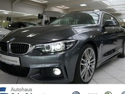 "gebraucht BMW 420 d Cabrio M Sport LED Navi Shzg LM 19"""