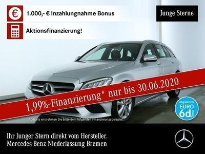 gebraucht Mercedes C200 T Avantgarde LED Keyl-GO Kamera Spurhalt-Ass
