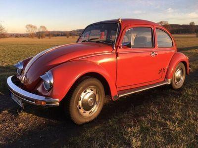 gebraucht VW Käfer Samtrot H-Kennzeichen Bj 84