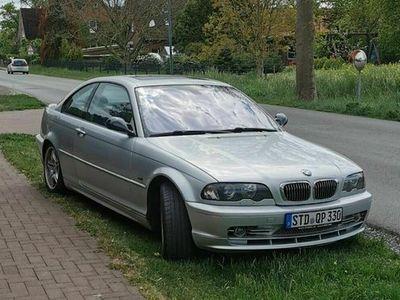 gebraucht BMW 330 E46 330Ci i Coupe titansilber