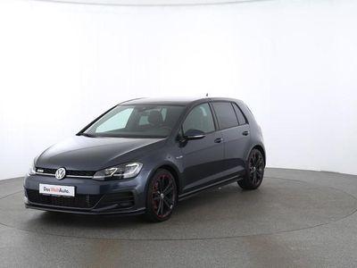 gebraucht VW Golf VII 2.0 TDI BMT DSG   PANO ACC schwarz