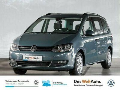 gebraucht VW Sharan 2.0 TDI DSG Comfortline 7-Sitzer Navi SHZ