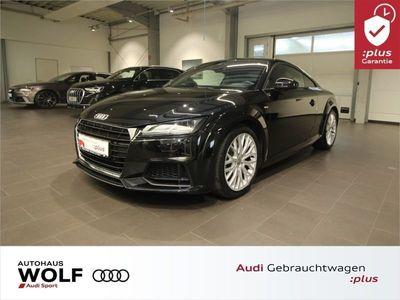 gebraucht Audi TT Coupé S line 1.8 TFSI 3x S-line Navi LED