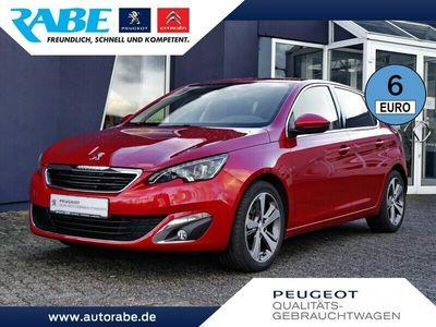 gebraucht Peugeot 308 Allure 130 PT NAV LED Kamera Sitzhzg. Notruf