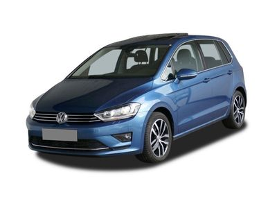 "gebraucht VW Golf Sportsvan Highline VII 2.0 TDI AHK PANO XENON 17"" KAM NAVI"