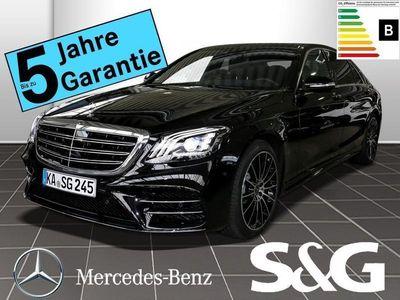 gebraucht Mercedes S400 d Lang 4M AMG-Line 360°/Pano/COMAND/Standh