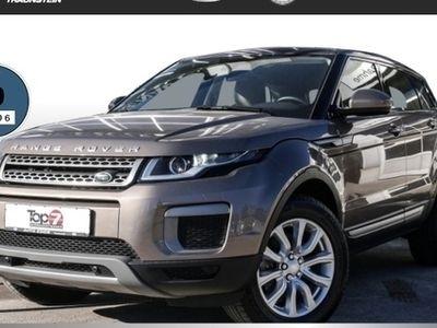 gebraucht Land Rover Range Rover evoque 2.0 TD4 SE StartStopp (Leder Klima Einparkhilfe el