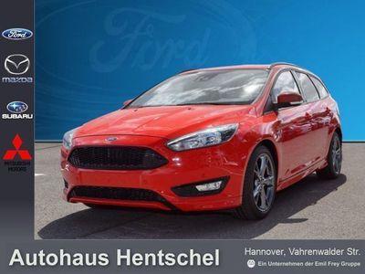 gebraucht Ford Focus Turnier 1,0 ST-Line Navi Businesspaket 18''