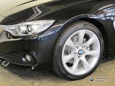 gebraucht BMW 420 d Cabrio Advantage Leder Navi Windschott