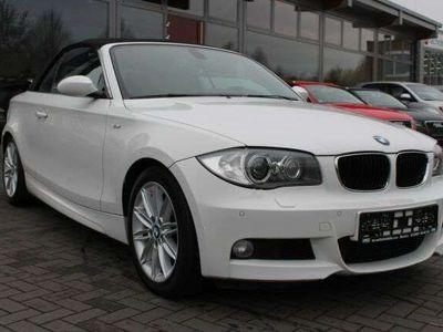 gebraucht BMW 118 Cabriolet d M Sport-Paket Navi Xenon Leder SHZ