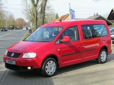 gebraucht VW Caddy Maxi Life Gewinner *1.HAND*KLIMA*PDC*